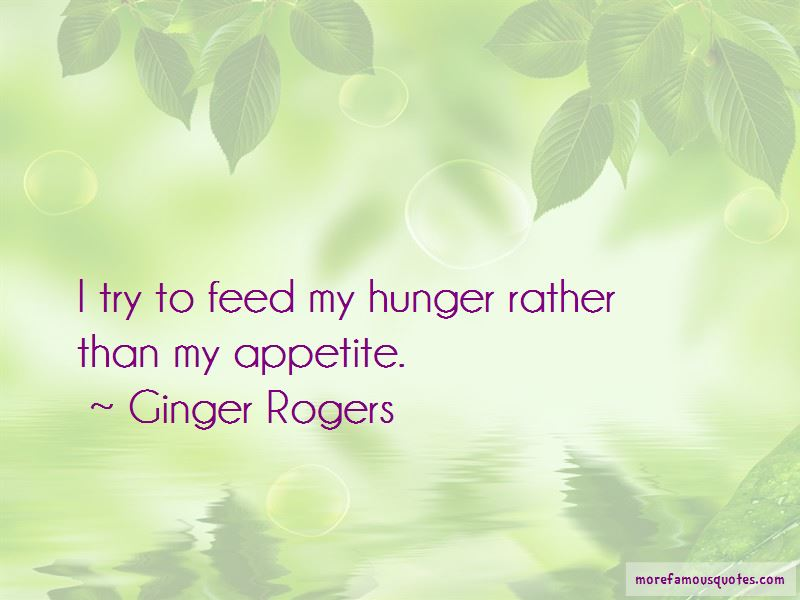 Ginger Rogers Quotes Pictures 2