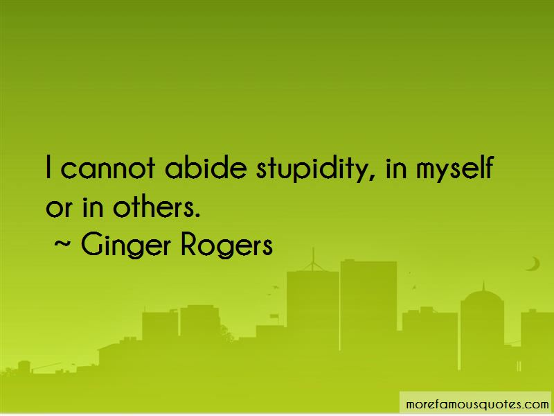 Ginger Rogers Quotes Pictures 3