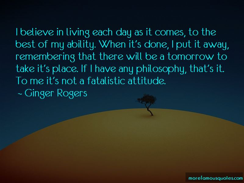 Ginger Rogers Quotes Pictures 4