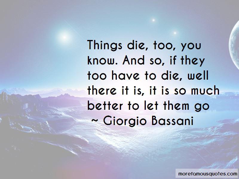 Giorgio Bassani Quotes Pictures 3