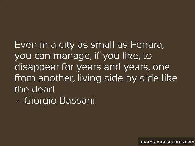Giorgio Bassani Quotes Pictures 4