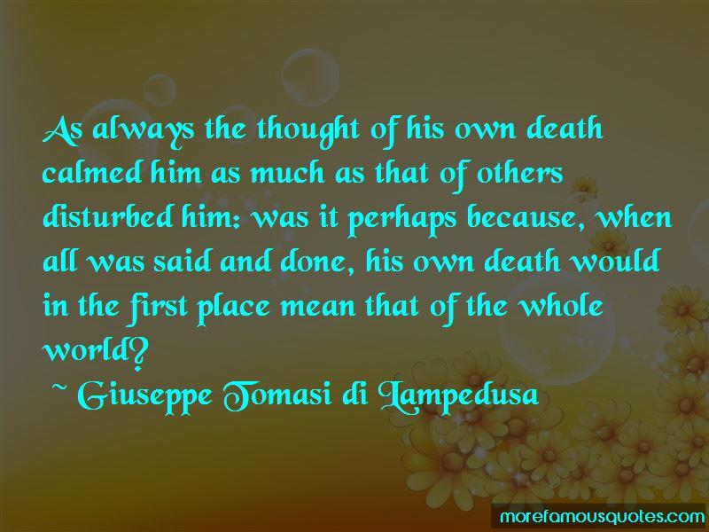 Giuseppe Tomasi Di Lampedusa Quotes Pictures 2