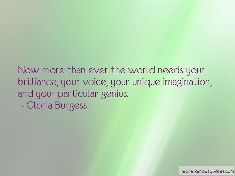 Gloria Burgess Quotes Pictures 2