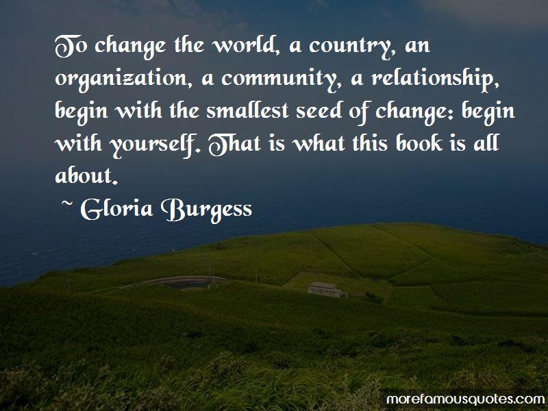 Gloria Burgess Quotes Pictures 4