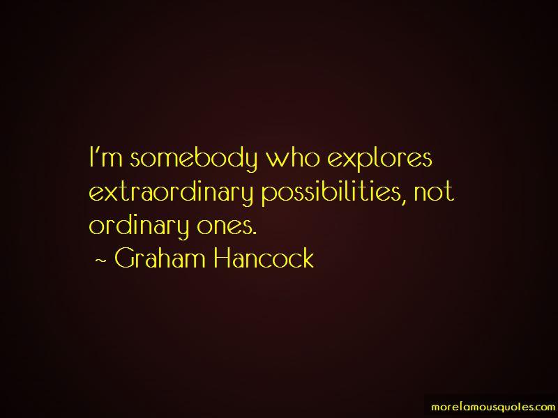 Graham Hancock Quotes Pictures 2