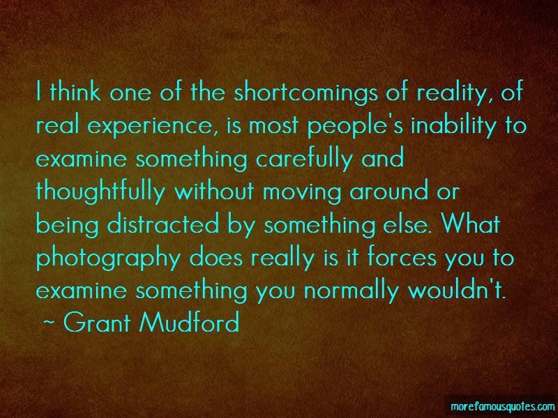 Grant Mudford Quotes