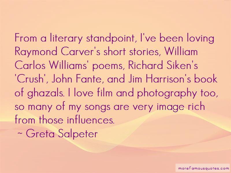Greta Salpeter Quotes Pictures 2