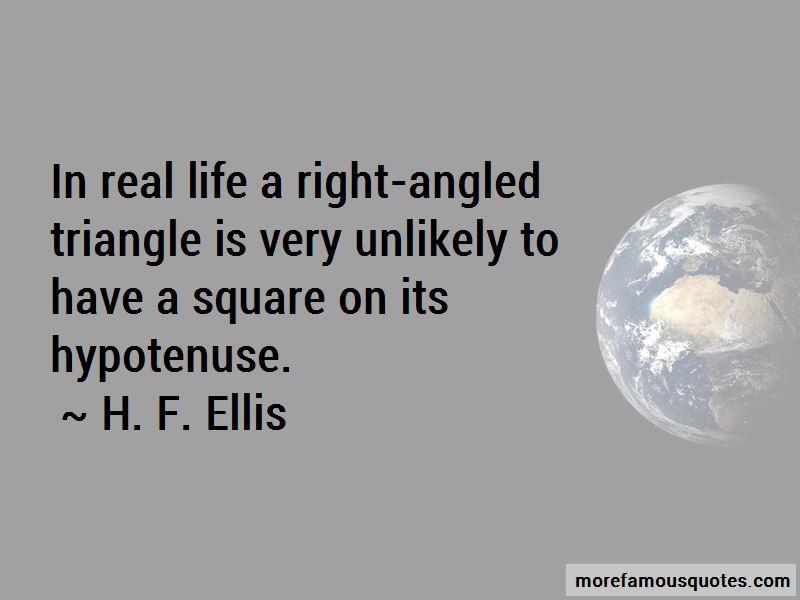 H. F. Ellis Quotes