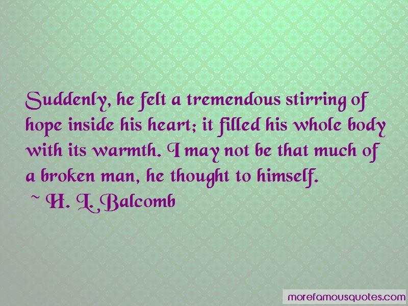 H. L. Balcomb Quotes Pictures 2