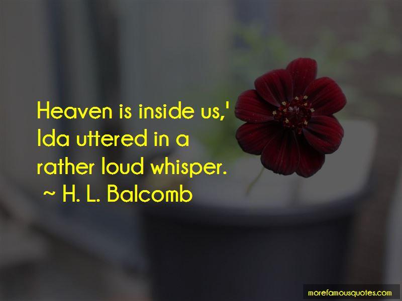 H. L. Balcomb Quotes Pictures 4