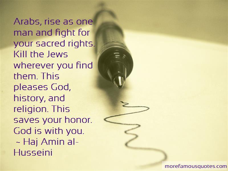 Haj Amin Al-Husseini Quotes Pictures 3