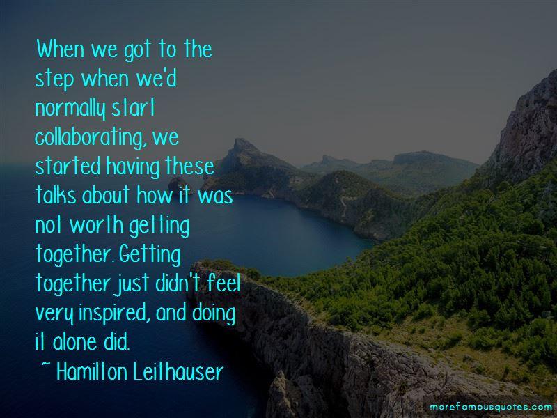 Hamilton Leithauser Quotes Pictures 4