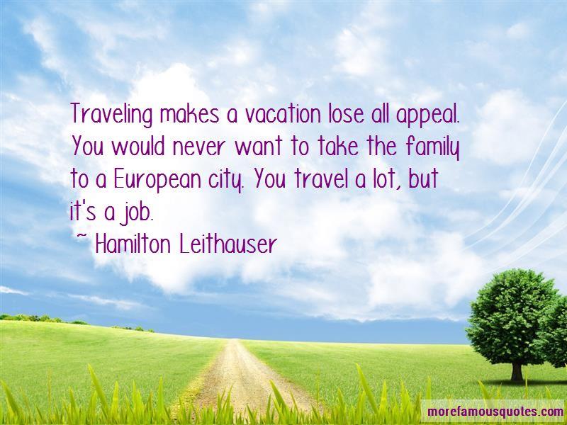 Hamilton Leithauser Quotes