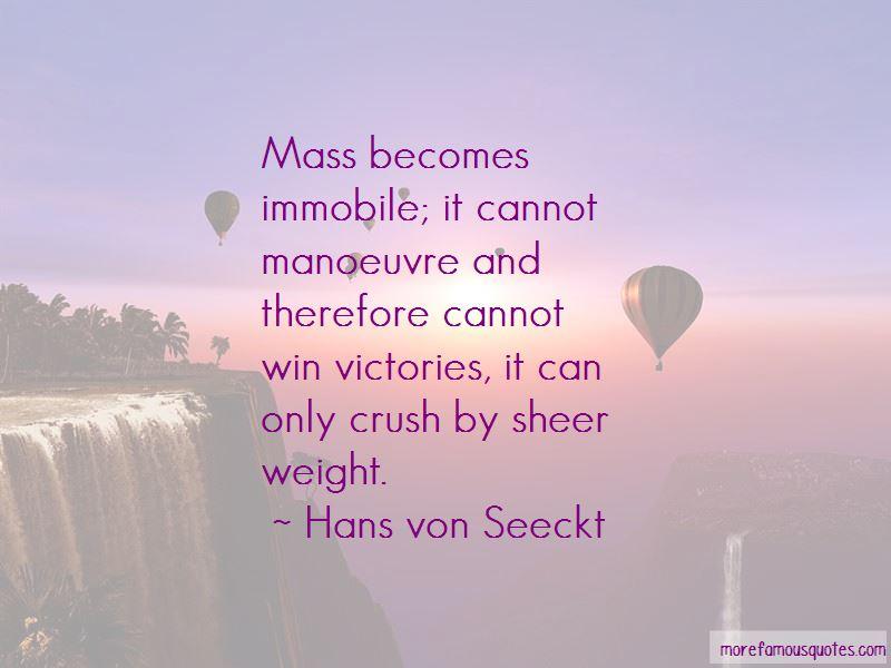 Hans Von Seeckt Quotes Pictures 2