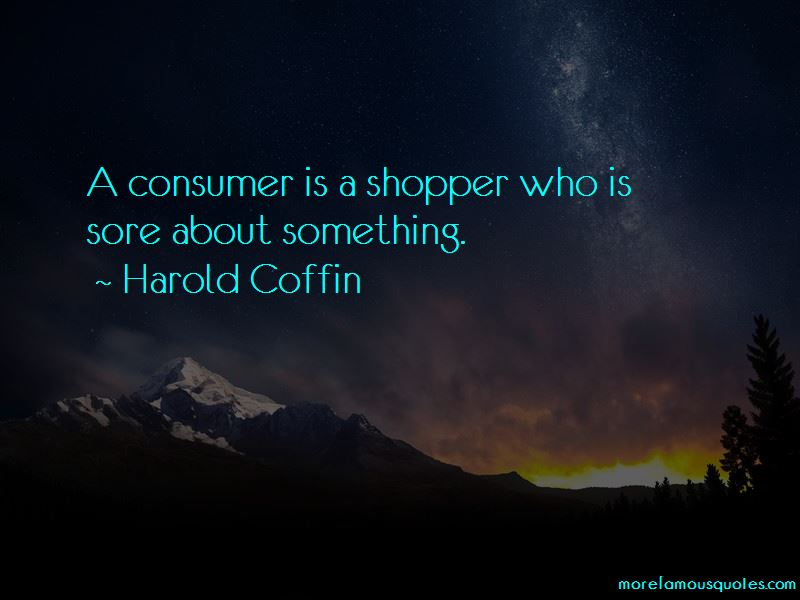 Harold Coffin Quotes Pictures 2