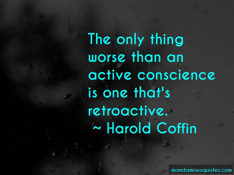 Harold Coffin Quotes