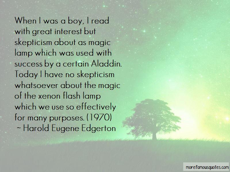 Harold Eugene Edgerton Quotes Pictures 4