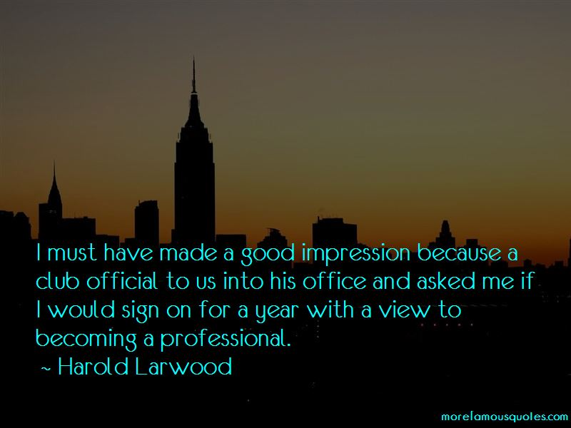 Harold Larwood Quotes Pictures 2
