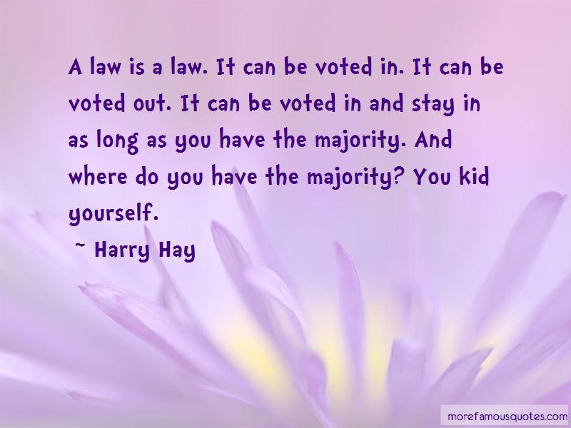 Harry Hay Quotes