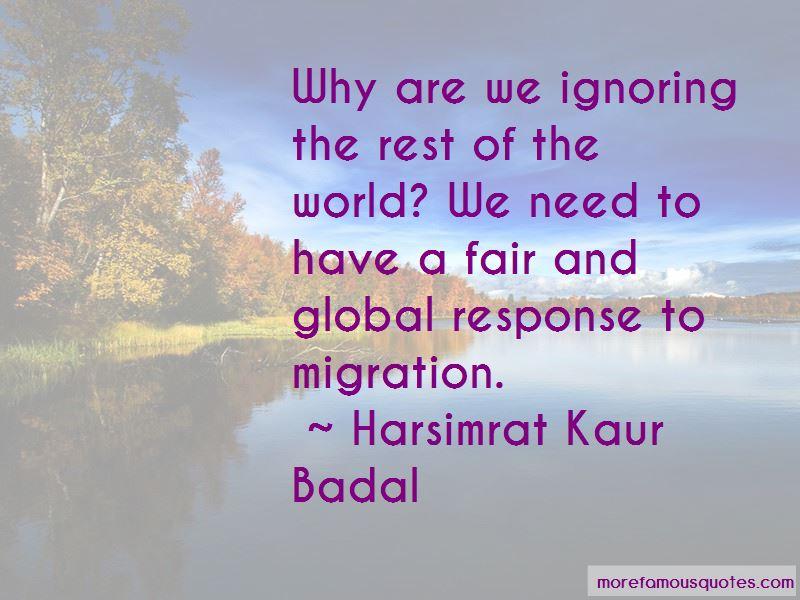 Harsimrat Kaur Badal Quotes