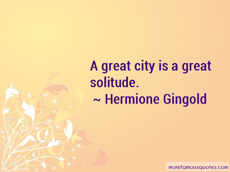 Hermione Gingold Quotes