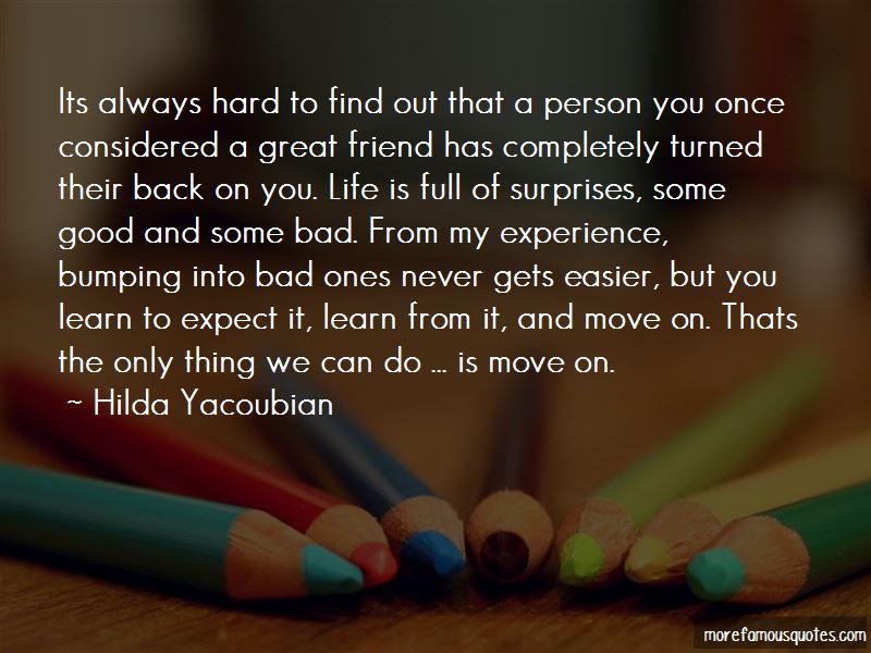 Hilda Yacoubian Quotes