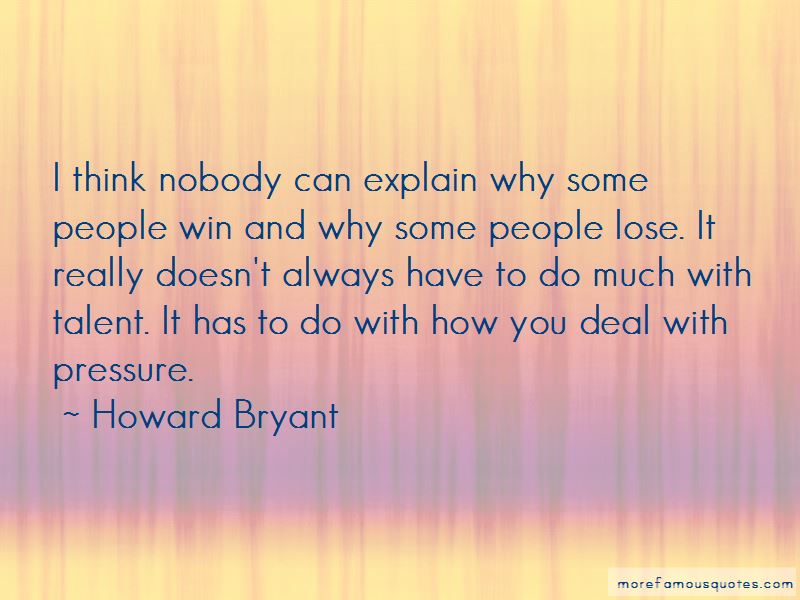 Howard Bryant Quotes