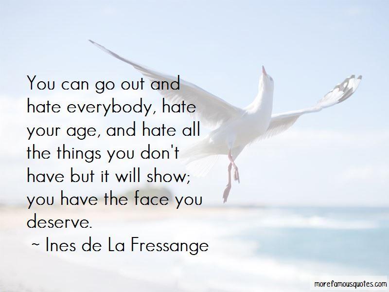 Ines De La Fressange Quotes Pictures 2