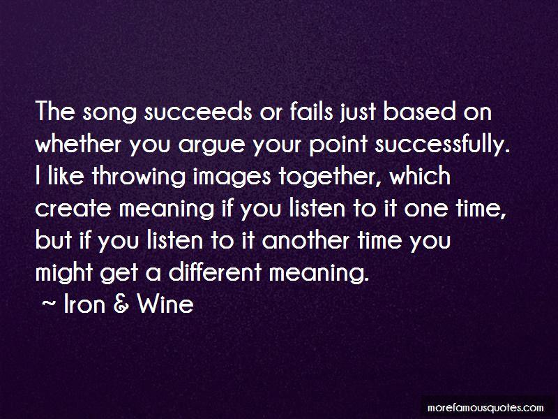 Iron & Wine Quotes Pictures 2