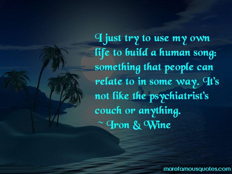 Iron & Wine Quotes