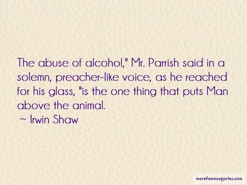 Irwin Shaw Quotes