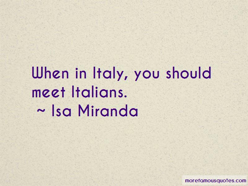 Isa Miranda Quotes