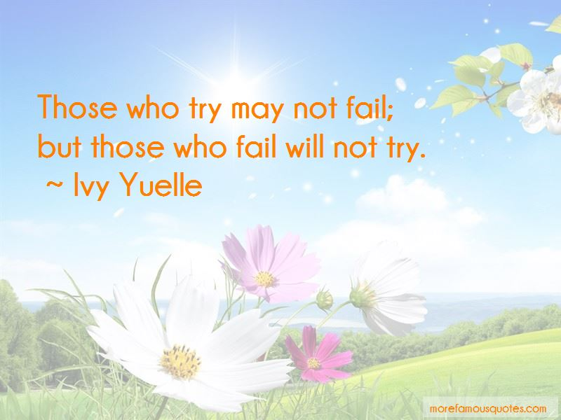 Ivy Yuelle Quotes