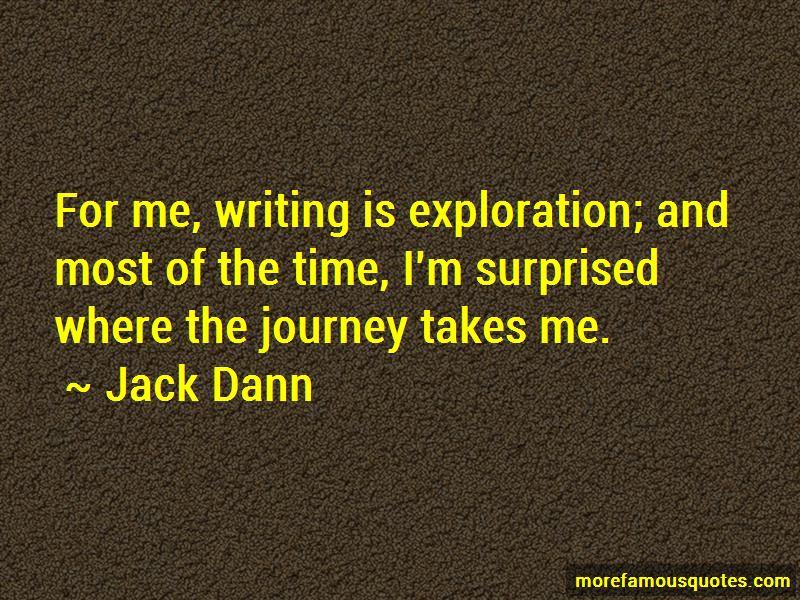 Jack Dann Quotes