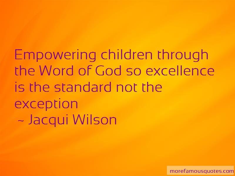 Jacqui Wilson Quotes