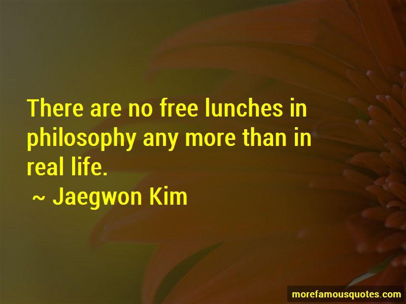 Jaegwon Kim Quotes