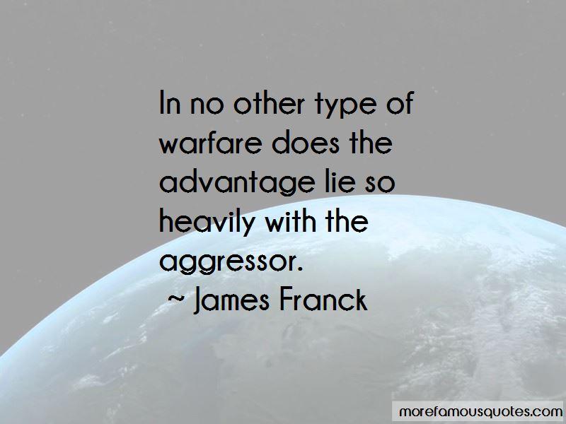 James Franck Quotes