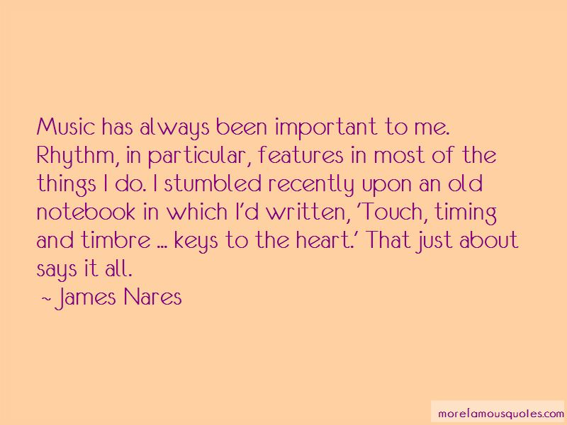 James Nares Quotes Pictures 4