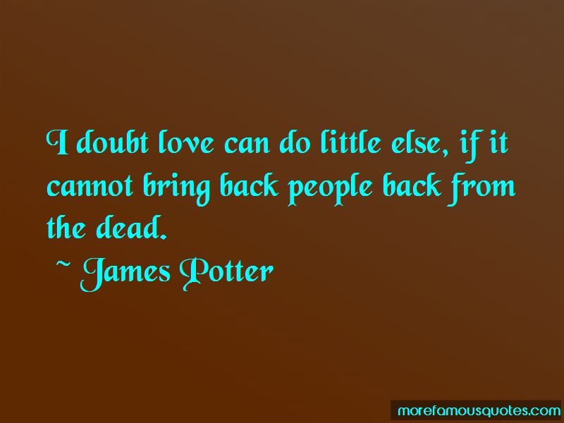 James Potter Quotes Pictures 2