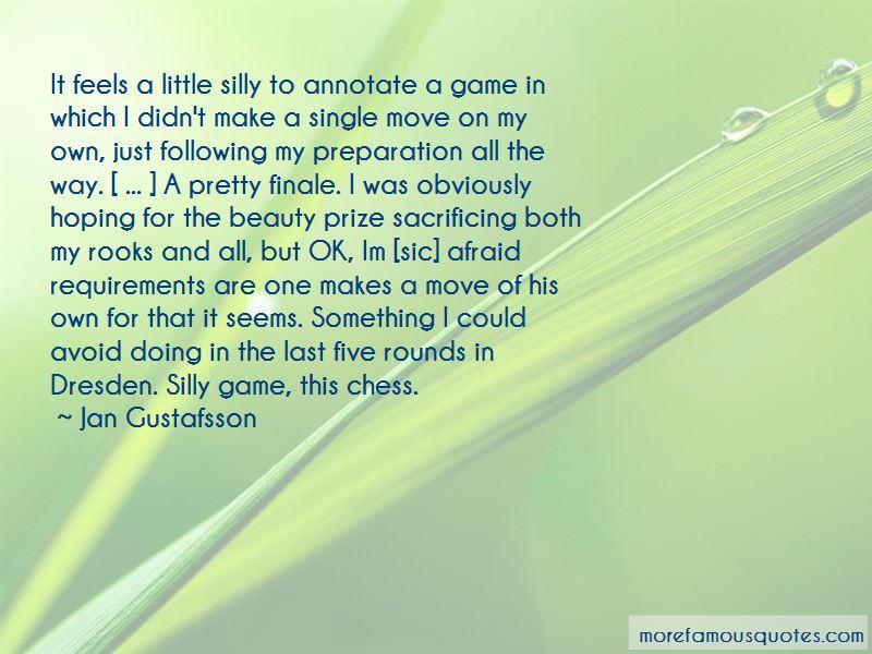 Jan Gustafsson Quotes