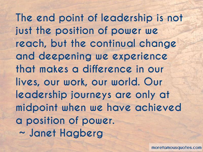 Janet Hagberg Quotes