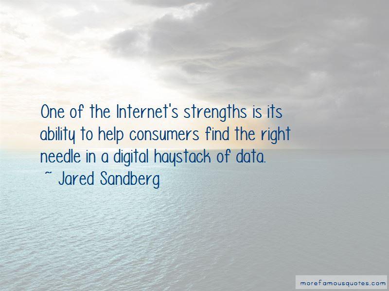 Jared Sandberg Quotes