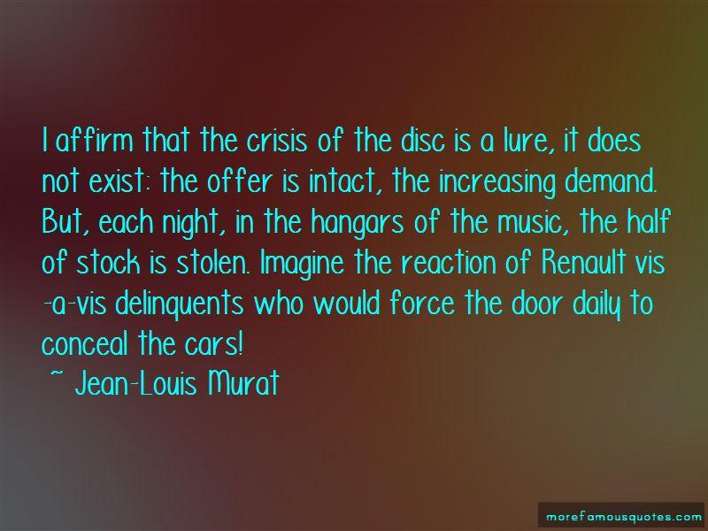 Jean-Louis Murat Quotes