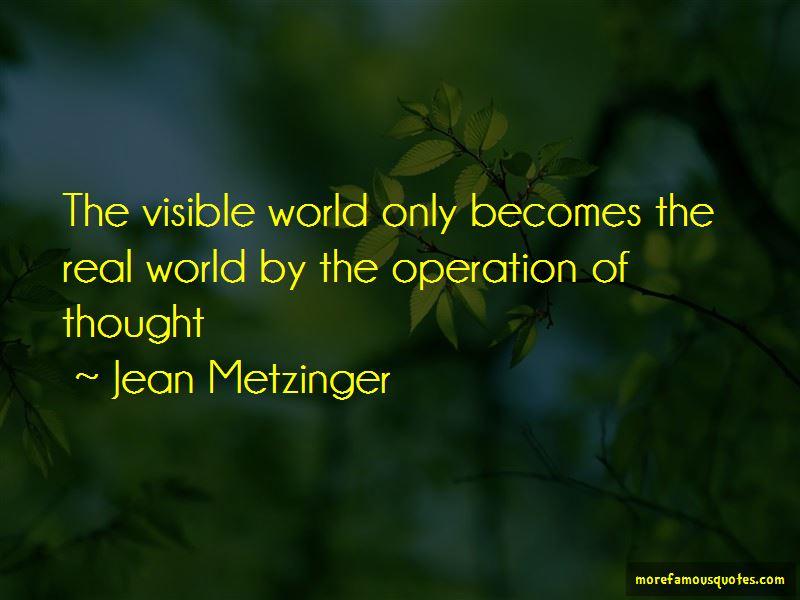 Jean Metzinger Quotes