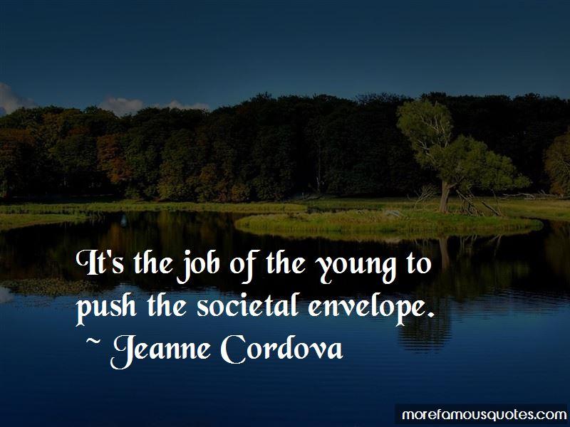 Jeanne Cordova Quotes