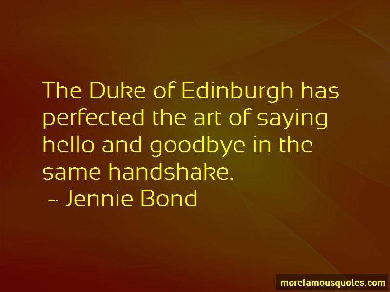 Jennie Bond Quotes