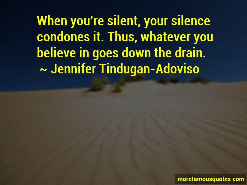 Jennifer Tindugan-Adoviso Quotes