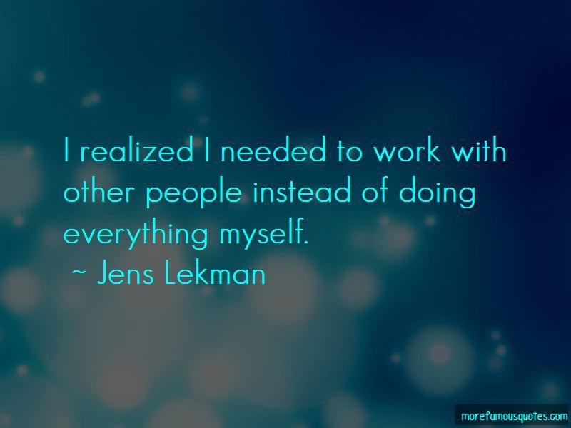 Jens Lekman Quotes
