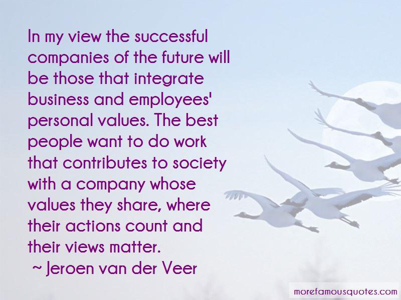 Jeroen Van Der Veer Quotes