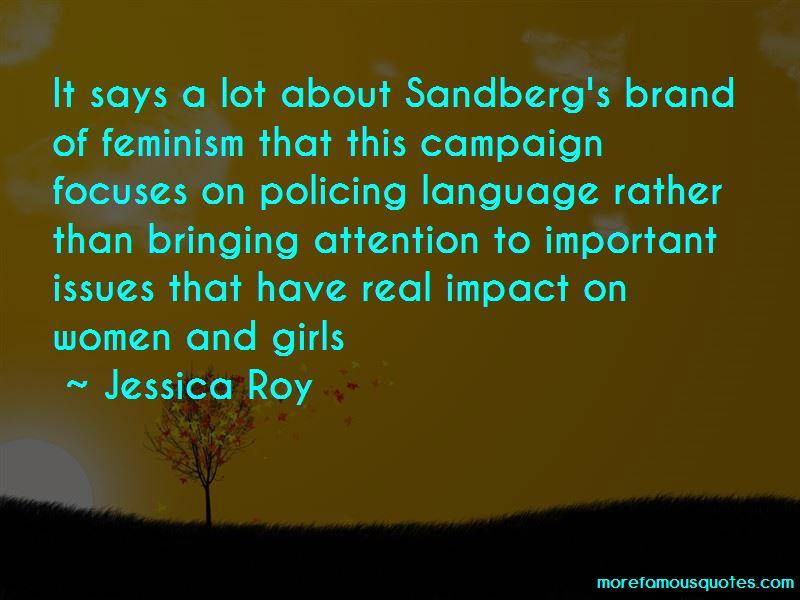 Jessica Roy Quotes